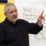 KB6NU teaching the Jan. 14, 2012 One-Day Tech Class