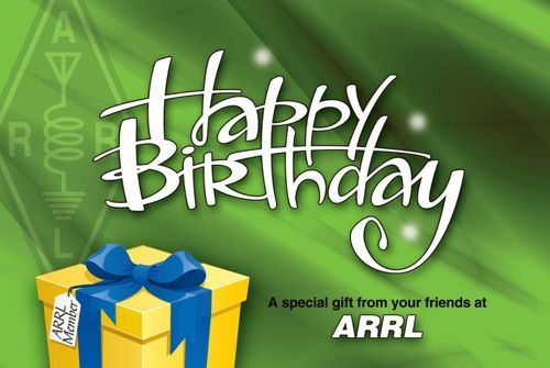 ARRL Happy Birthday