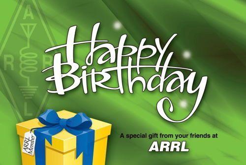 ARRL Happy Birthday