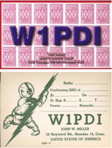 W1PDI QSLs