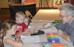 The Owensboro ARC hosts a children's program at the Owensboro Museum of Science and History where kids can learn the Phonetic Alphabet while making crafts.