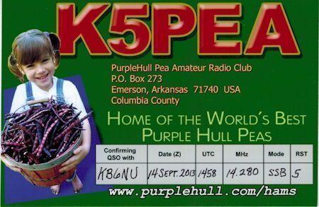 K5PEA QSL