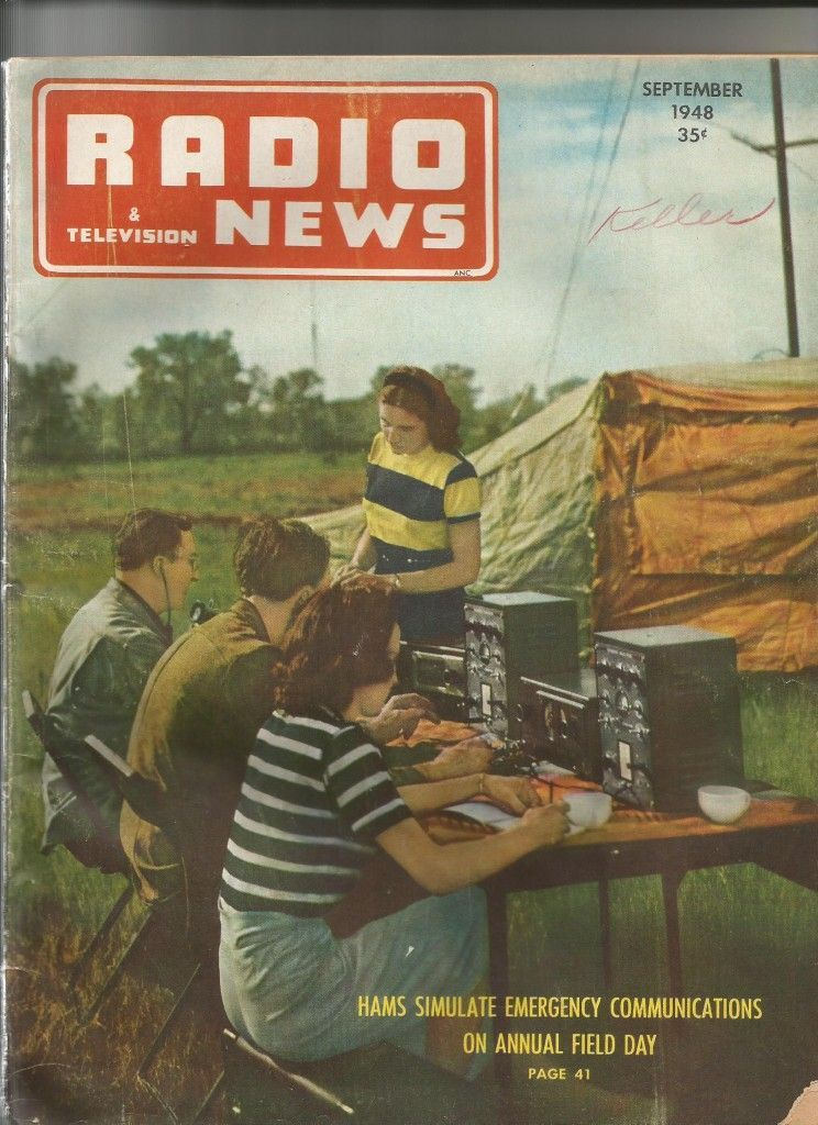 A.Radio News Sept 1948
