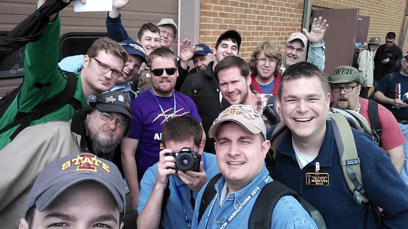 #hamtwits at Dayton 2014