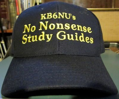 I'm not sure if this cap will actually help me sell more study guides, but it looks cool.