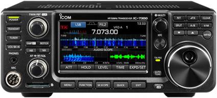 My new ICOM IC-7300, part 2 – operating controls - KB6NU's